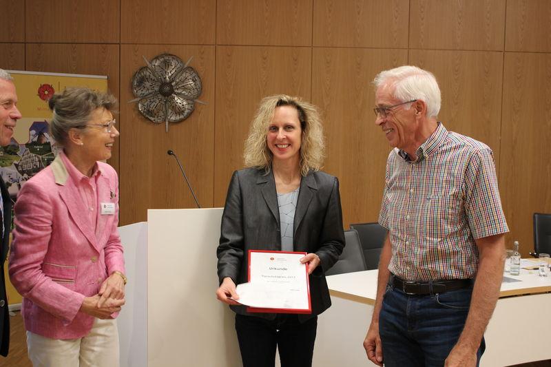 Tierschutzpreis 2017 für die Amphibienschutzgruppe im BUND Lippe