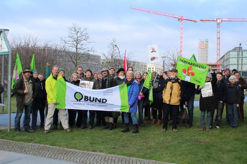 """""""Wir haben es satt !"""" Demonstration in Berlin"""