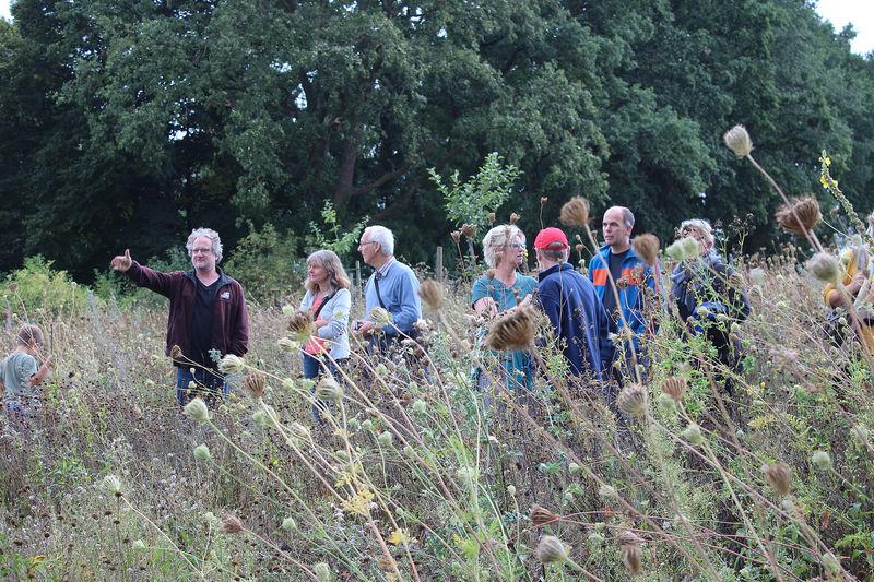 BUND Gartenbesuch in Ehrentrup am 6. September 2020