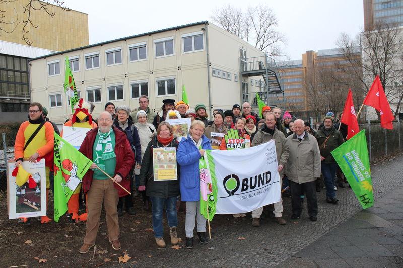 Wir haben es satt! Demo am 21. Januar 2017 in Berlin