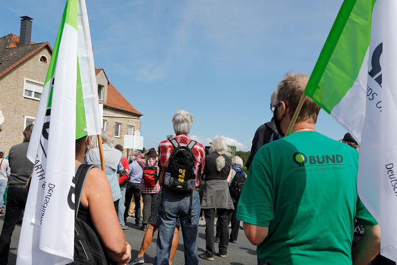 """BUND Lippe auf der Demo """"Lippe ökoLogisch"""" am 30. August 2020"""